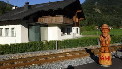 Photo: Sami,a túrista gratulál a csúcstámadáshoz /Innertkirchen/