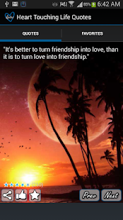Heart Touching Quotes - screenshot thumbnail