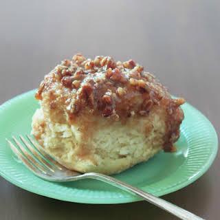 Maple Cream Cheese Pecan Rolls.