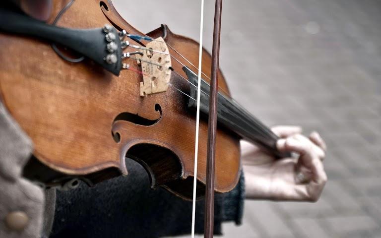 android Violin Live Wallpaper Screenshot 1