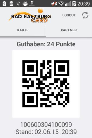Bad HarzburgCard-App