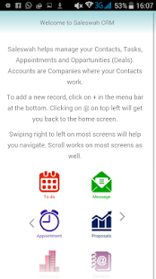 Saleswah CRM Plus- screenshot thumbnail