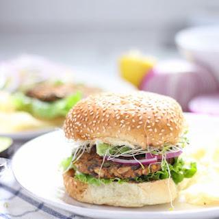 Sweet Potato and Black Bean Veggie Burgers (Vegan optional!).