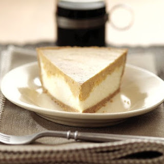 PHILADELPHIA 3-STEP Double Layer Pumpkin Cheesecake Recipe