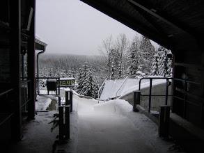 Photo: Blick aus Startbereich Gästebob
