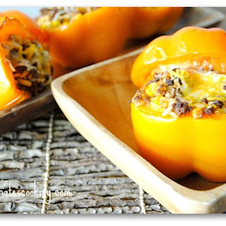 Mexi Stuffed Peppers.