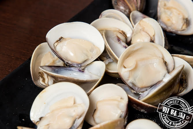 進吉泰國蝦海鮮炭烤吃到飽烤蛤蜊