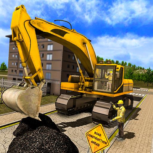 Real Road Builder Sim 2018: Construction Games