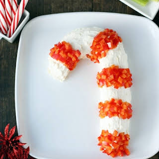 Festive Holiday Cheese Ball for Kids.