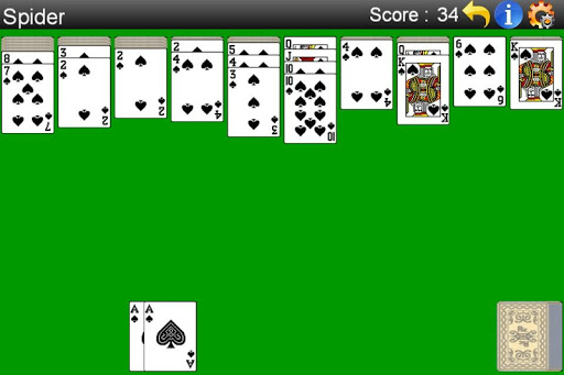 Spider Solitaire ss1