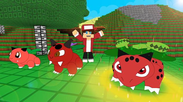 Скачать pixelmon craft go: тренировка битвы apk последняя версия.