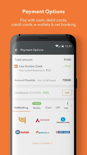 Grofers-grocery delivered safely with SuperSavings 5.5.54 screenshots 7