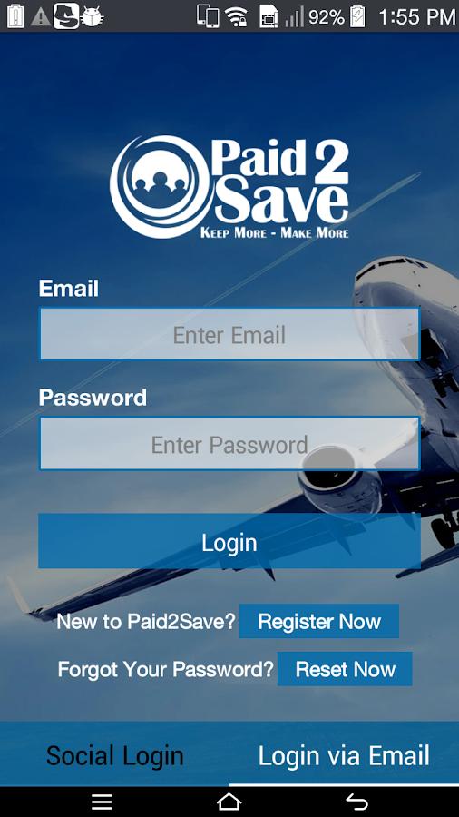 Paid2Save - screenshot