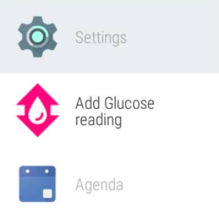 Glucosio: Diabetes Tracker- screenshot