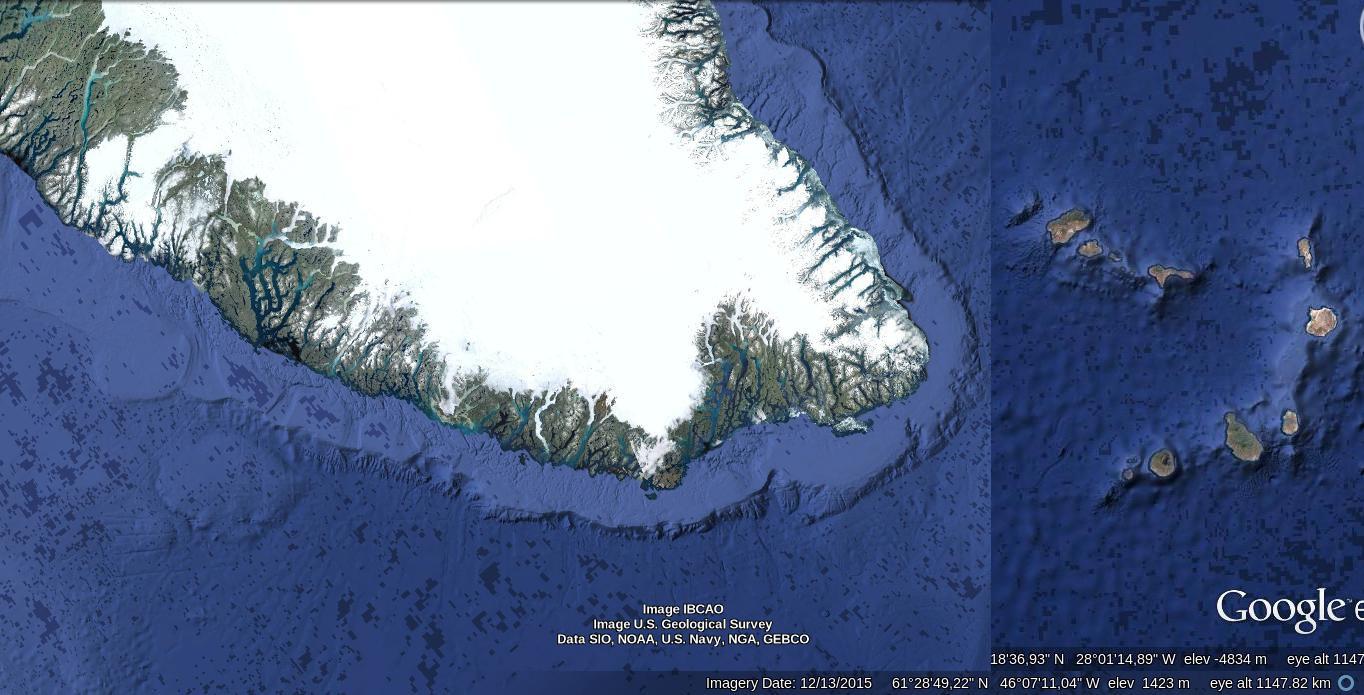 Image IBCAO, Image U.S. Geological Survey, Data SIO, NOAA, U.S. Navy, NGA, GEBCO