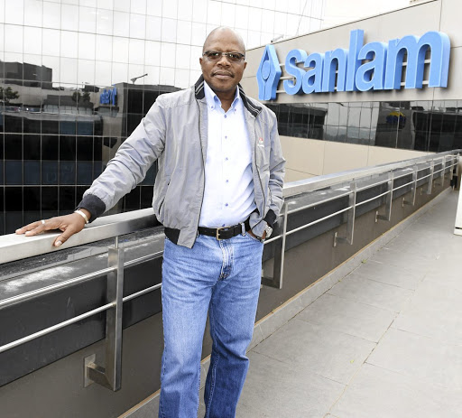 Junior Ngulube: Saham and Sanlam have similar philosophies Picture: FREDDY MAVUNDA