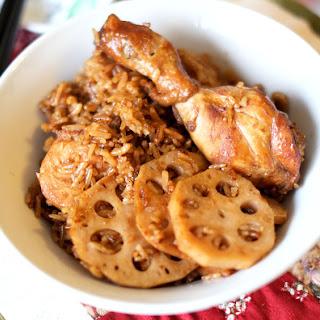 Lotus Root Claypot Chicken Rice