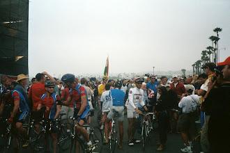 Photo: Im Startgelände am Hafen von San Diego