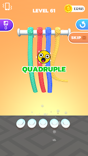 Tangle Master 3D Mod APK (Unlimited Coins/No Ads) for Android 2