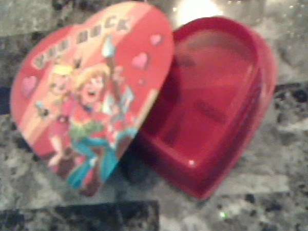Valentines Heart for MOM from Marquel Green (Banana Strawberry Dessert created in a heart shaped mold)