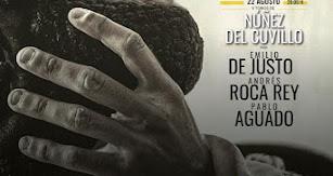 Cartel para los festejos taurinos con motivo de la Feria de Almería 2021.