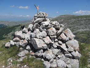 Photo: In vetta al Monte la Torricella
