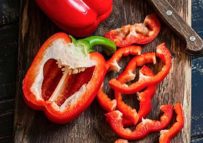 ớt chuông chứa nhiều vitamin A