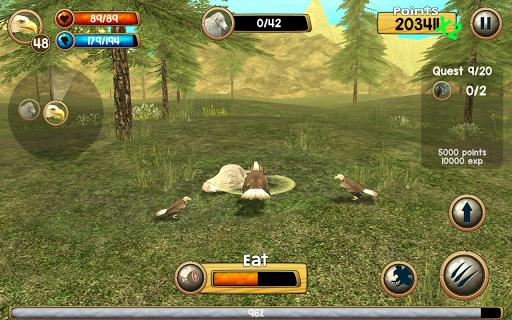 Wild Eagle Sim 3D apkpoly screenshots 15