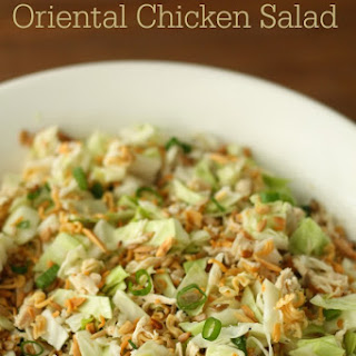 Ramen Noodle Oriental Chicken Salad Recipe