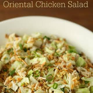 Ramen Noodle Oriental Chicken Salad.