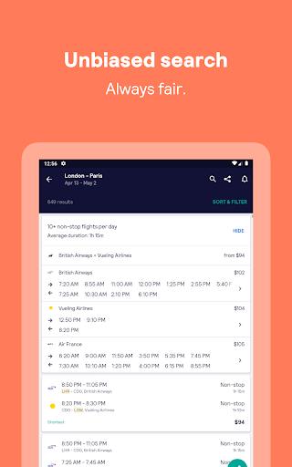 Skyscanner – cheap flights, hotels and car rental screenshot 11