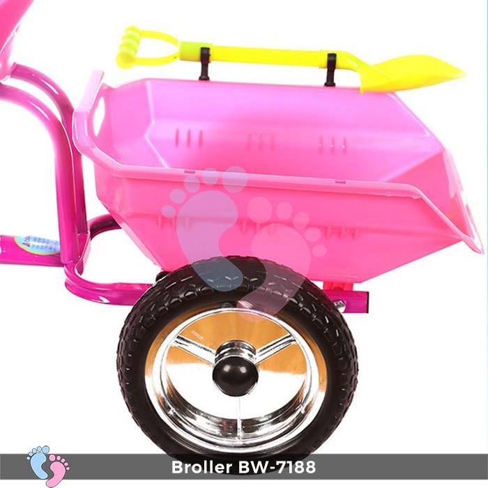 Xe đạp trẻ em 3 bánh Broller XD3-7188 12