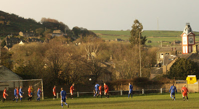 Photo: 12/04/12 v Slaithwaite United (Huddersfield & District League Division 1) 2-2 - contributed by Mike Latham