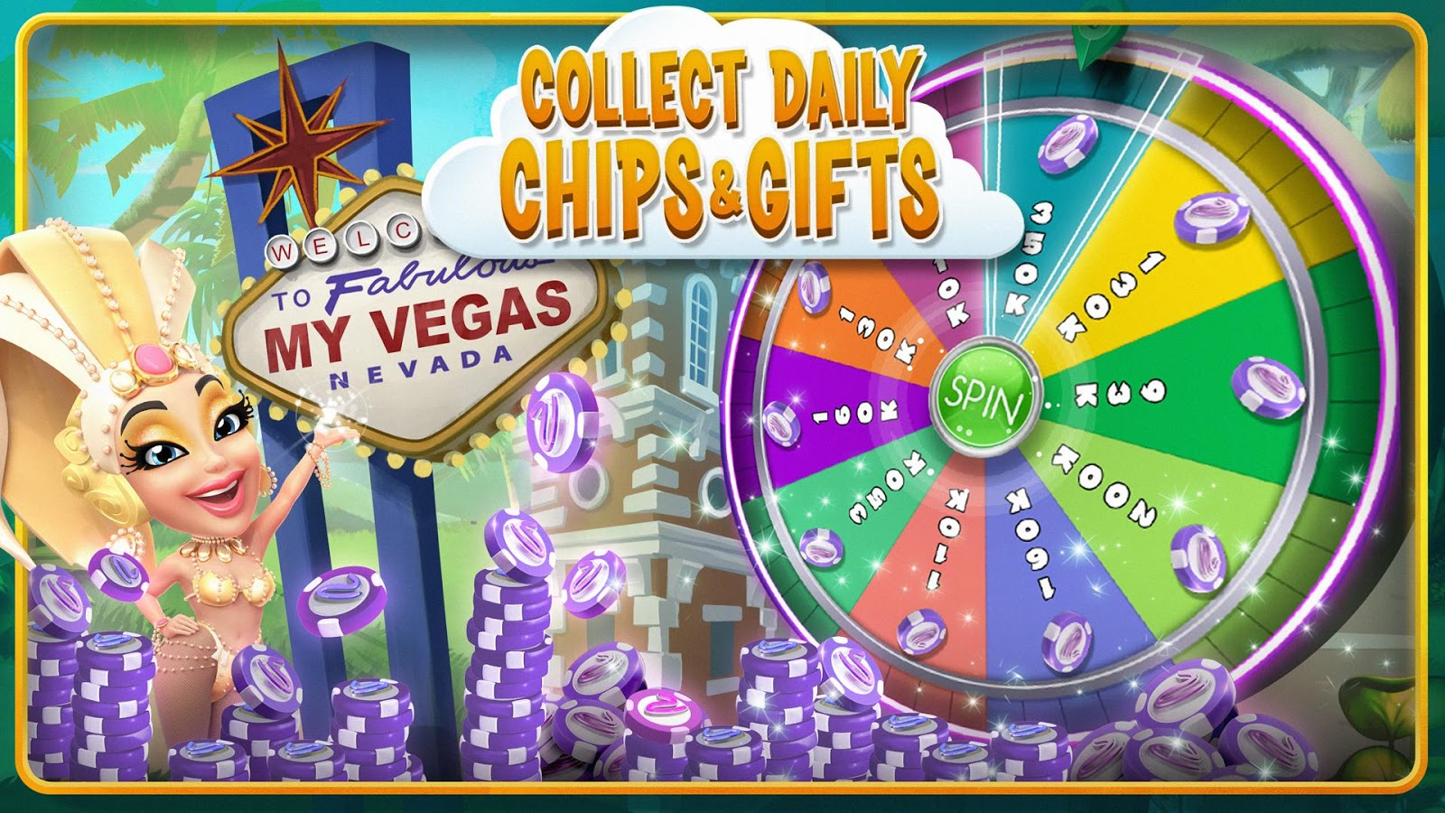 myVEGAS Slots - Free Casino- screenshot