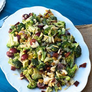 Crunchy Broccoli Grape Salad.