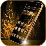 App Luxury Gold Theme Gold Rose APK for Windows Phone