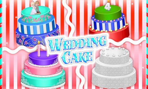 Wedding Cake Maker Girls Cooking Game apktram screenshots 5