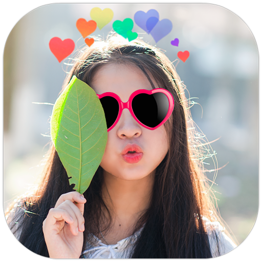 Heart Crown Cute: Photo Editor Filter App Icon