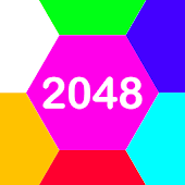 Shoot 2048 Hexagon