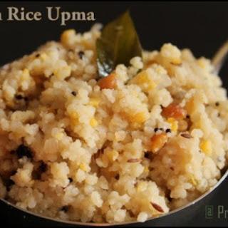 Brown Rice Upma.