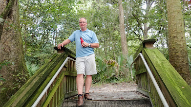 Photo: Mark on the trail at the park