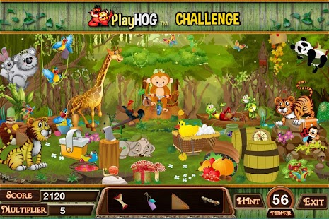 Challenge #184 Wild Way Free Hidden Objects Games - náhled