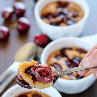 Mini Cherry Cobbler
