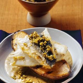 Indian Sea Bass with Sauce