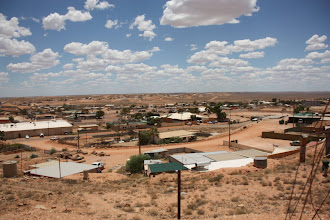 Photo: Year 2 Day 220 - View of the Town of Coober Pedy