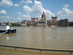 Photo: Dunaj w Budapeszcie w 2009 (09 - malowanka)