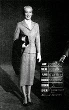 """Photo: Vera Miles num teste de figurino para """"Um Corpo que Cai"""". Ela chegou a ser cogitada para o papel."""
