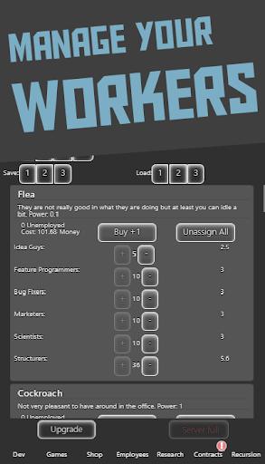 Idle Idle GameDev 1.0.112 screenshots 4