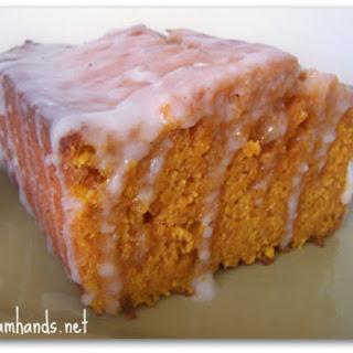 Moist Ginger Pumpkin Bread.