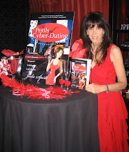 Photo: Julie Spira at the book launch for The Perils of Cyber-Dating at Social Hollywood.
